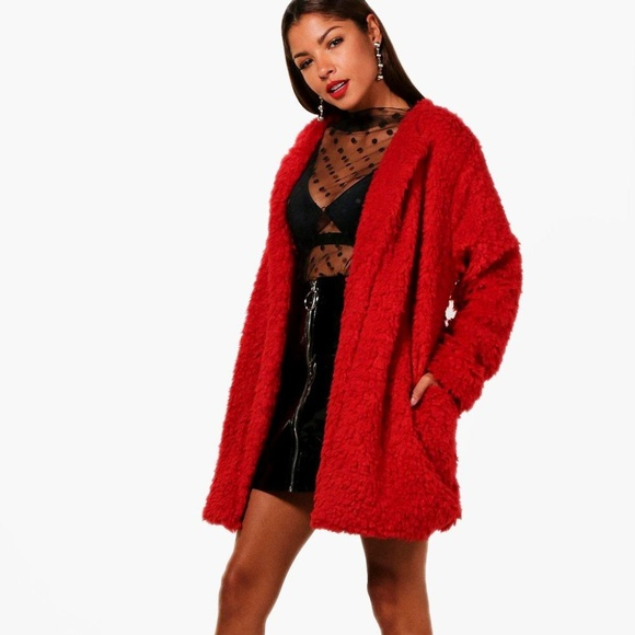 wide range high quality materials factory price Catherine Boucle Faux Fur Coat